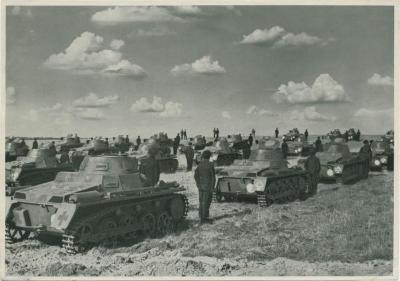 Wir haben wieder Tanks durch Hitlers Tat