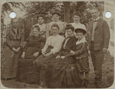 [Photograph of Bick family]
