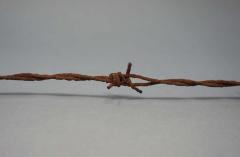 Barbed wire from Oskar Schindler's factory in Brünnlitz