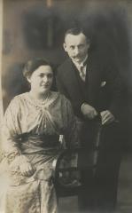 [Photograph of Max and Martha Bick]